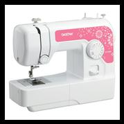 Brother JV1400 Basic Multi Purpose Sewing Machine (Pink)